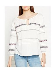 Paul And Joe Zerk Embroidered Tunic Off White