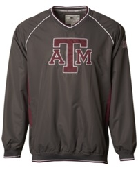 Colosseum Men's Texas A And M Aggies Pitch Pullover Jacket Maroon