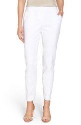 Vince Camuto Petite Women's Stretch Cotton Ankle Pants