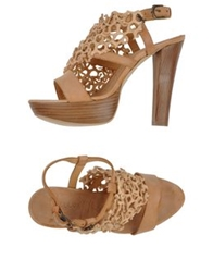 Henry Beguelin Sandals Beige