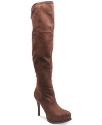Two Lips Lux Over The Knee Boots Women's Shoes