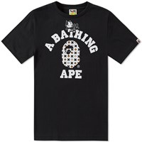 A Bathing Ape X Felix The Cat 7 Tee Black