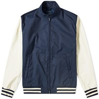 Nanamica X Slowear Varsity Harrington Jacket Blue
