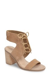 Sole Society Women's Auburn Lace Up Sandal