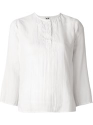 Dolce And Gabbana Vintage Oriental Embroidery Blouse White