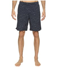 The North Face Class V Pull On Trunk Long Urban Navy Mountain Scape Print Men's Swimwear