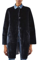 Topshop Women's Bonded Faux Fur Coat