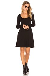 Bcbgeneration Casual Fit And Flare Dress Black