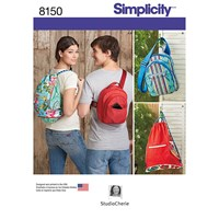 Simplicity Backpack Sewing Pattern 8150