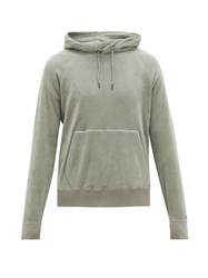 Ralph Lauren Purple Label Fleece Hooded Sweatshirt Grey