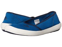 Adidas Boat Slip On Sleek Shock Blue Collegiate Navy Chalk White Women's Shoes