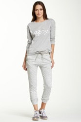 Central Park West French Terry Sweatpant Gray