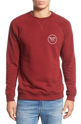 Brixton Men's 'Wheeler' Graphic Crewneck Sweatshirt