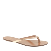 J.Crew Rio Metallic Sandals Brocade Gold