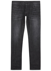 Dsquared Faded Black Slim Leg Jeans