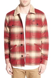 Men's Obey 'Grayson' Quilt Lined Plaid Shirt Jacket