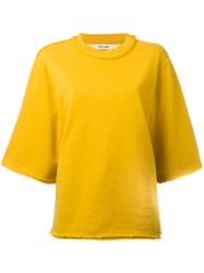 Damir Doma Wana Sweatshirt Yellow Orange