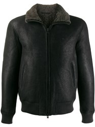 Closed Aviator Jacket Black