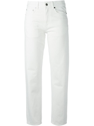Acne Studios 'Pop' Relaxed Fit Jeans White