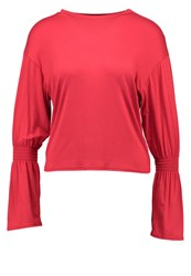 New Look Petite Long Sleeved Top Bright Red