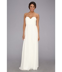 Donna Morgan Laura Gown White Lily Women's Dress