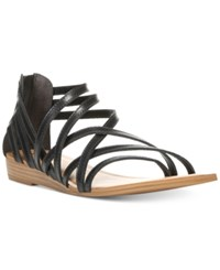 Carlos By Carlos Santana Amara Flat Sandals Women's Shoes Black