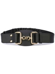 Rochas Elasticated Strap Belt Black