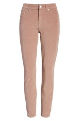 Lucky Brand Ava Skinny Ankle Corduroy Pants Antler Pink