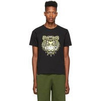 Kenzo Black Limited Edition High Summer Tiger T Shirt