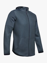 Under Armour Unstoppable Move Light Full Zip Training Hoodie Wire Full Heather