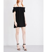 French Connection Evening Dew Crepe Dress Black