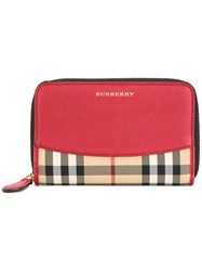 Burberry Medium 'Marston' Wallet Red