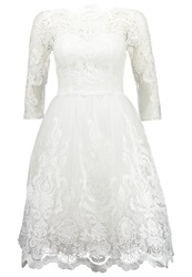 Chi Chi London Cocktail Dress Party Dress White