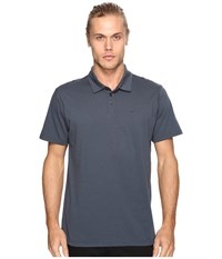 Rvca Sure Thing Ii Polo Midnight Men's Clothing Navy