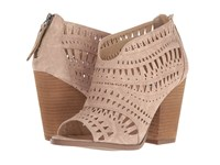 Not Rated Groove Thang Cream High Heels Beige