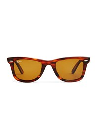 Ray Ban Wayfarer Sunglasses Large Rb2140 954 Light Brown