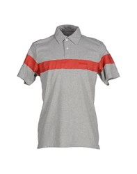 Woolrich Topwear Polo Shirts Men Grey
