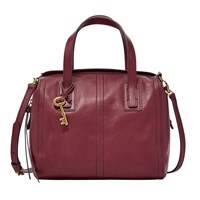 Fossil Zb6847609 Emma Satchel Bag Red