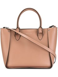 Alexander Mcqueen 'Inside Out Shopper' Tote Nude Neutrals