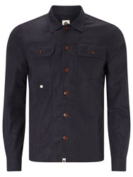 Pretty Green Stamford Shirt Navy