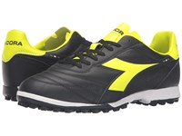 Diadora Brasil R Tf Black Yellow Fluo Men's Soccer Shoes