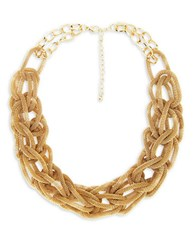 Catherine Stein Designs Inc Metal Revival Mesh Link Necklace Gold
