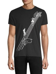 Tee Library Dancing On Strings Cotton Black