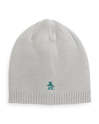 Penguin Hawks Reversible Beanie Hat Light Ash