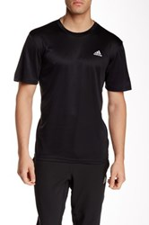 Adidas Short Sleeve Crew Neck Tee Black