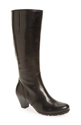 Women's Gabor Knee High Leather Boot 2' Heel