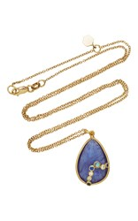 Zaiken Jewelry One Of A Kind Tanzanite Pendant Necklace Blue