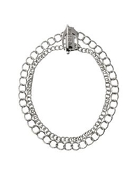 Just Cavalli Necklaces Silver