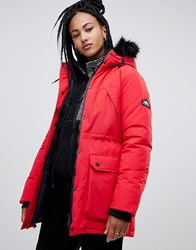 Penfield Kirby Parka Coat Mars Red