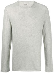 Zadig And Voltaire Long Sleeved Knit Jumper 60
